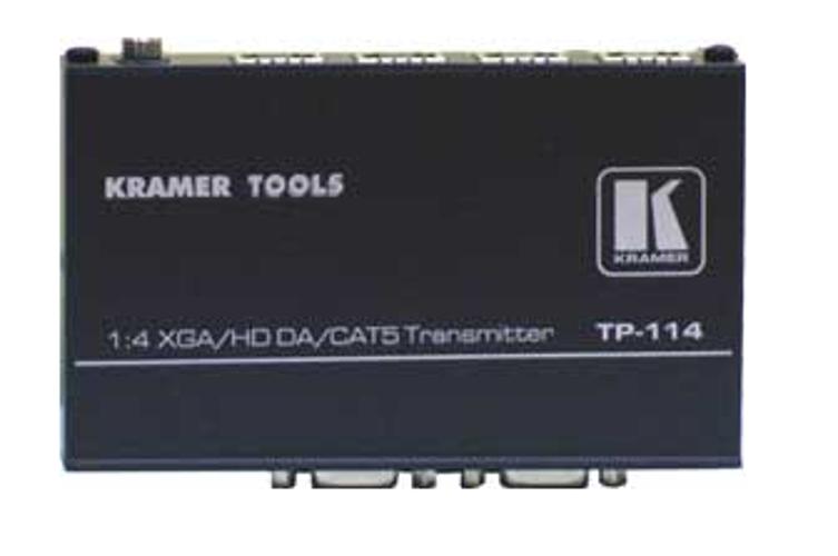 1:4 VGA/HDTV Over Twisted Pair Transmitter