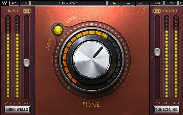 Waves Greg Wells ToneCentric [DOWNLOAD] Analog Tone Plugin GWTC