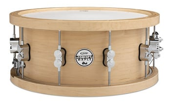 """6.5x14"""" Concept Series Wood Hoop 20-ply Maple Snare"""