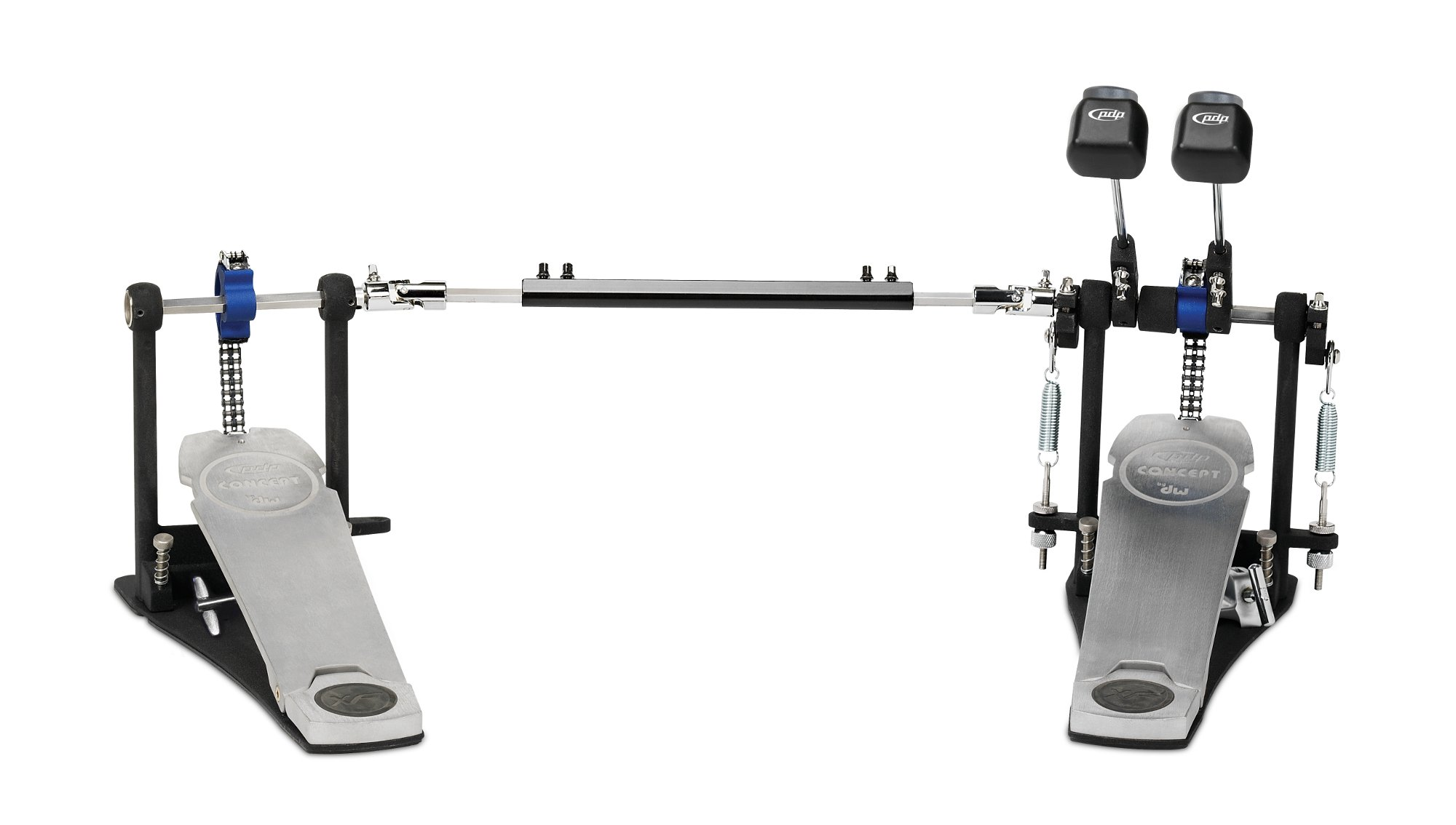 Concept Double Pedal with Extended Footboard