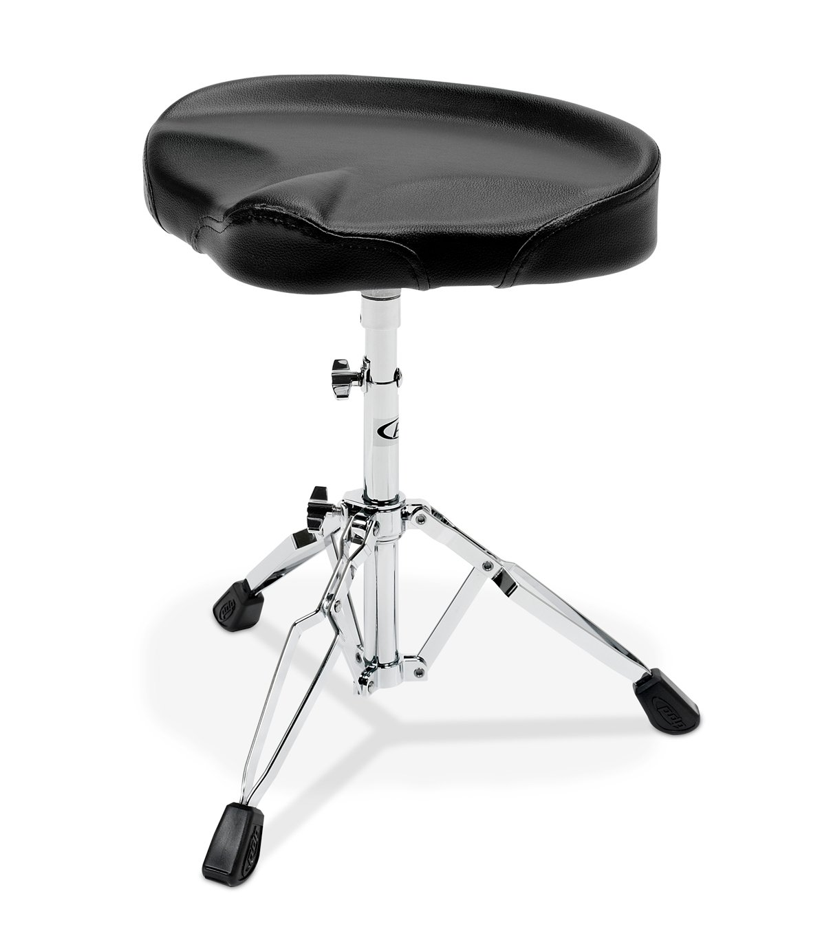 700 Series Tractor Style Drum Throne, Black