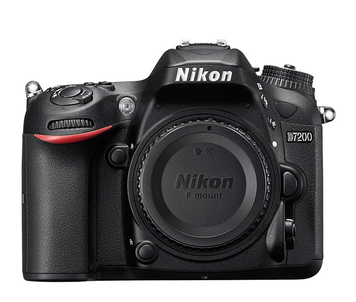 Nikon 1554 24.2 MP D7200 Body Only in Black 1554