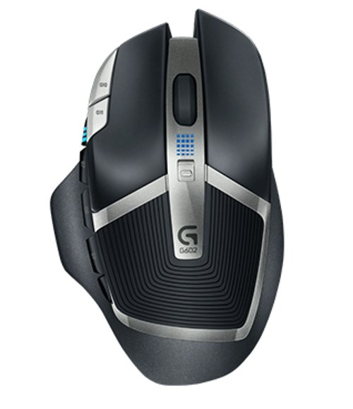 Wireless Gaming Mouse with 11 Programmable Buttons and 250 Hour Battery Life