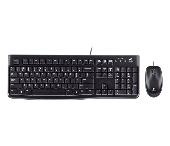 Desktop Keyboard & USB Mouse