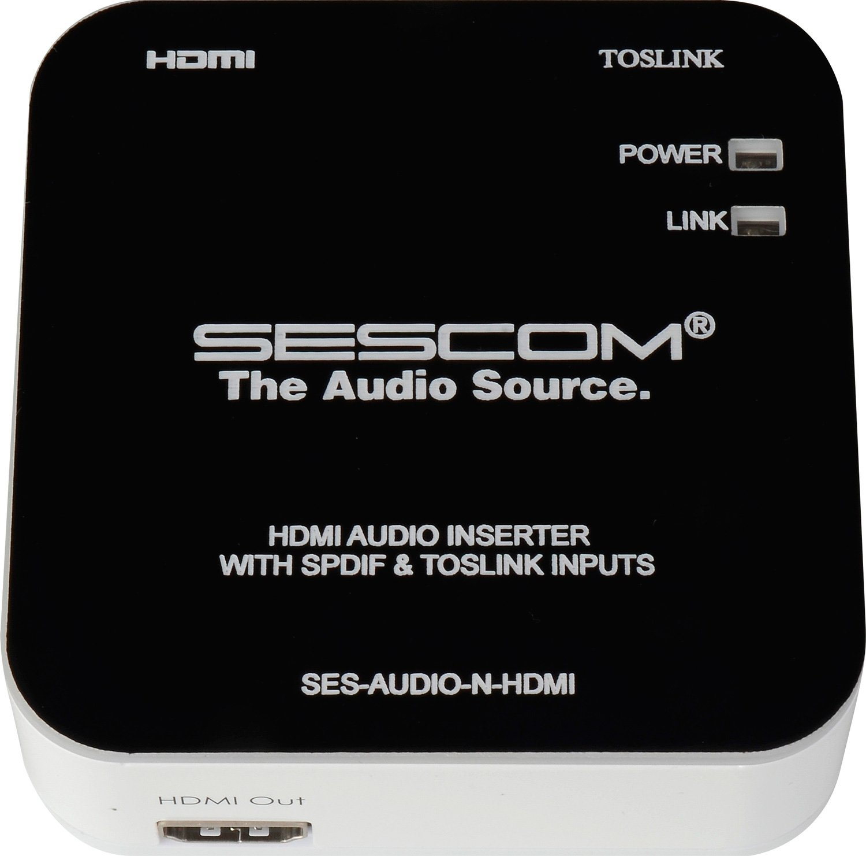 Sescom SES-AUDIO-N-HDMI Audio Inserter SES-AUDIO-N-HDMI