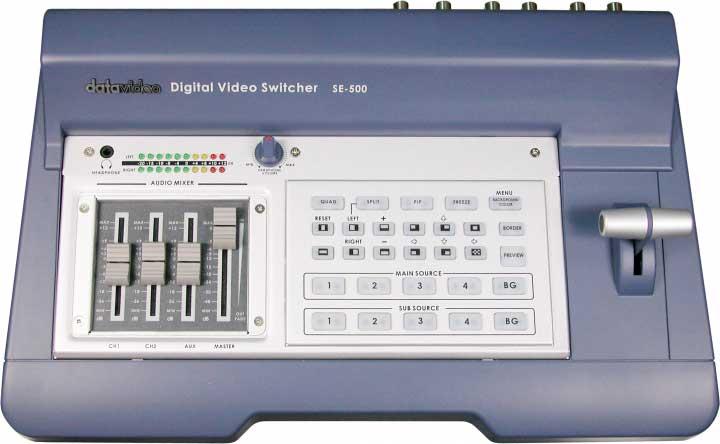 4-Channel Video Mixer, NTSC