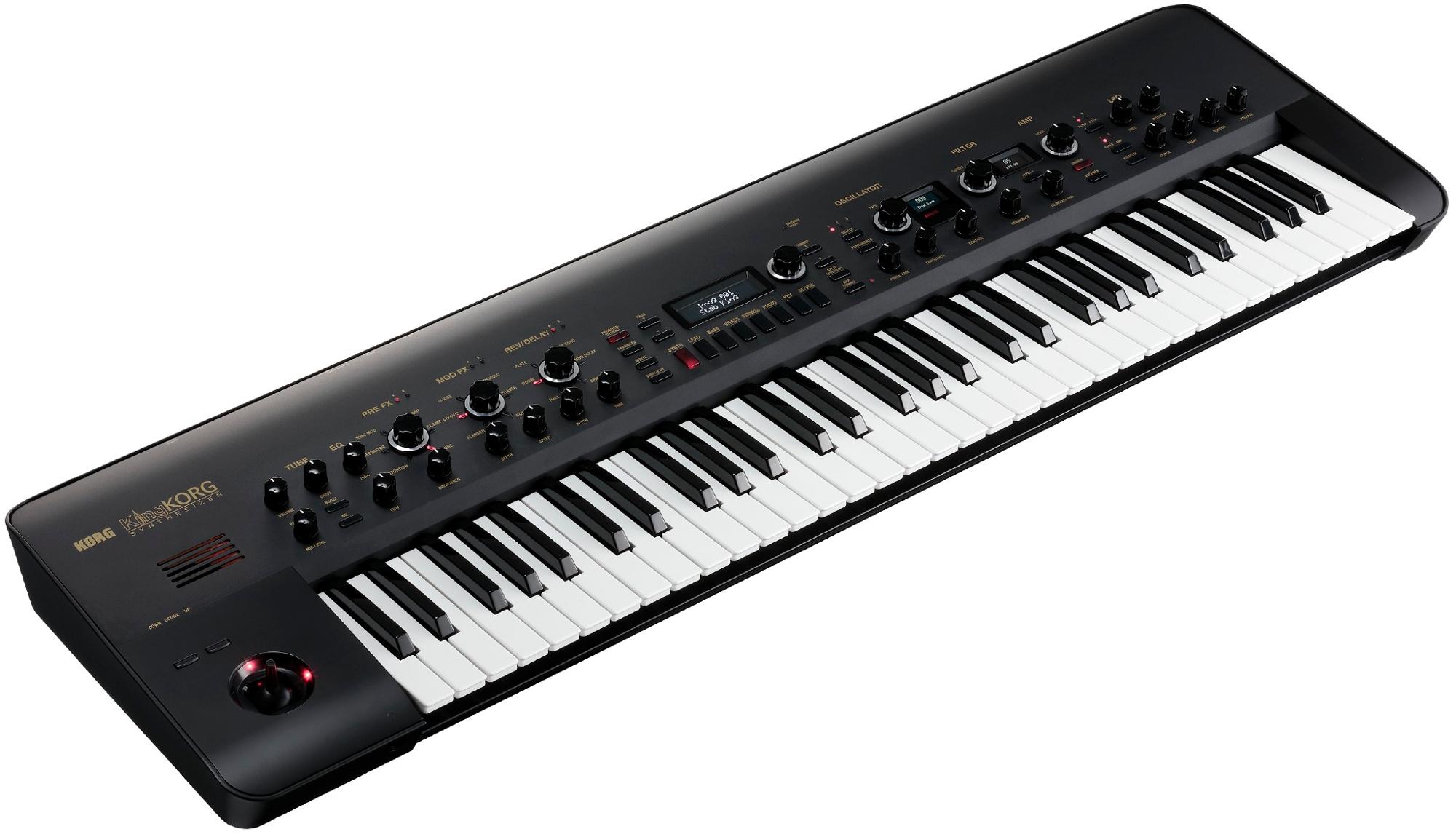 61-Key Synthesizer, Black