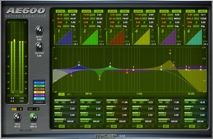 McDSP AE600 Native v6 [DOWNLOAD] EQ Plugin AE600-ACTIVE-EQ-NAT