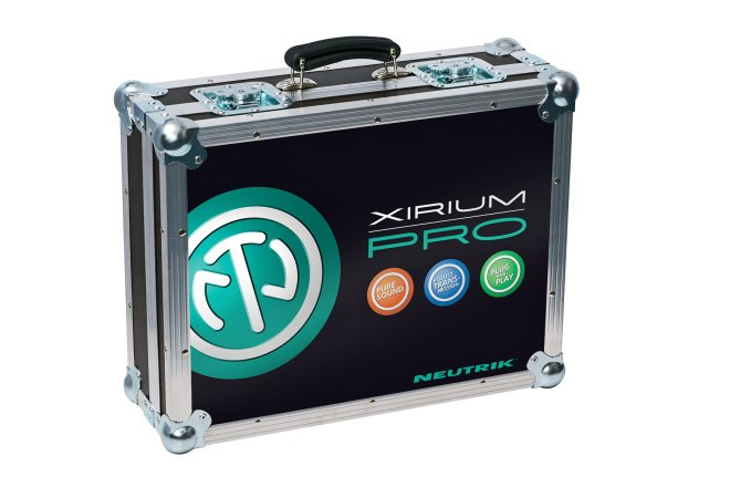 Empty Flight Case with Foam Cut-Outs for XIRIUM PRO