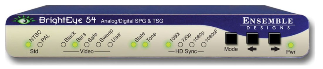 Sync Generator and Test Signal Generator with Power Supply