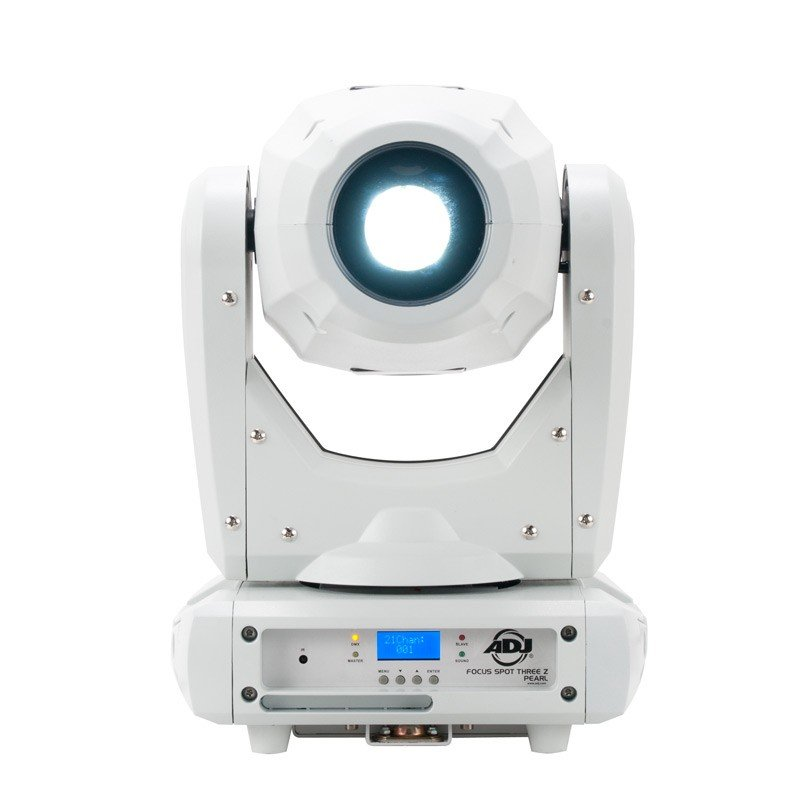 100W LED Moving Head Fixture in White