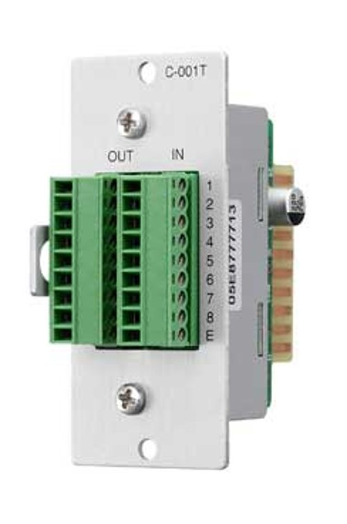 8-Channel Input/Output Control Expansion Module for 9000 Series Amplifiers