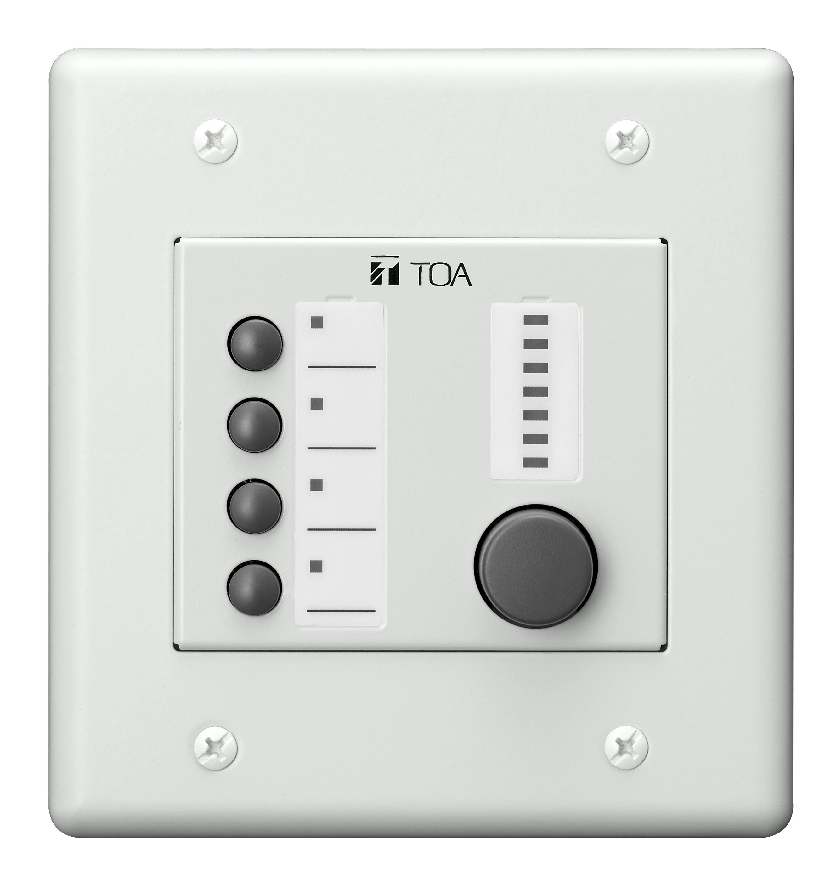 TOA ZM-9014 Remote Panel, 4 Button Volume Control ZM9014
