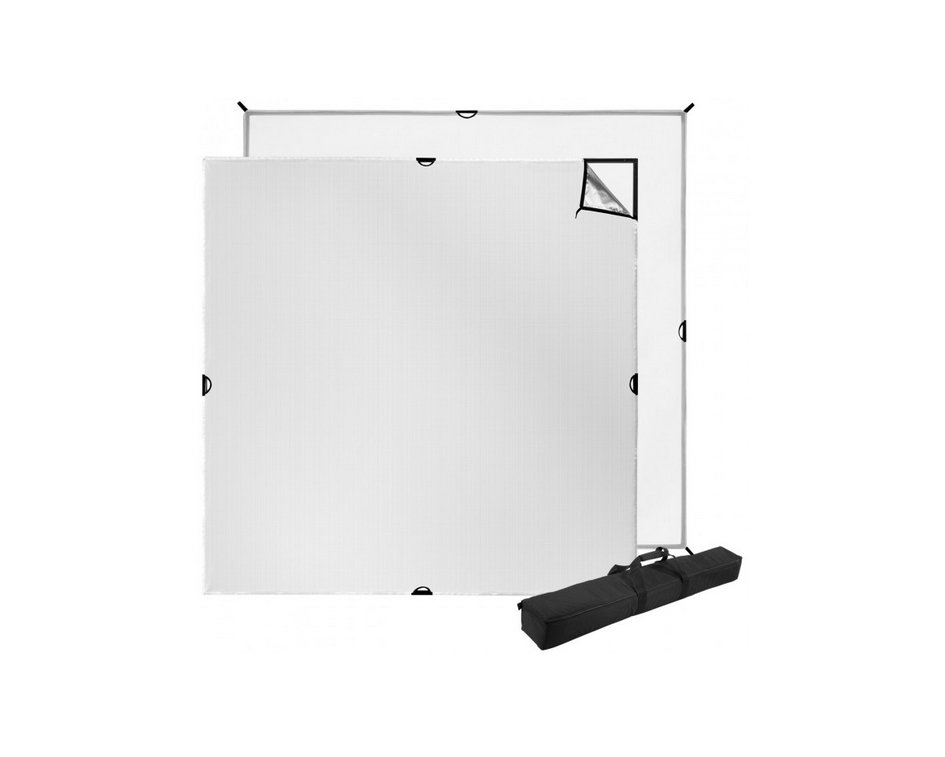 Scrim Jim Cine 8ft x 8ft Light Modification Kit