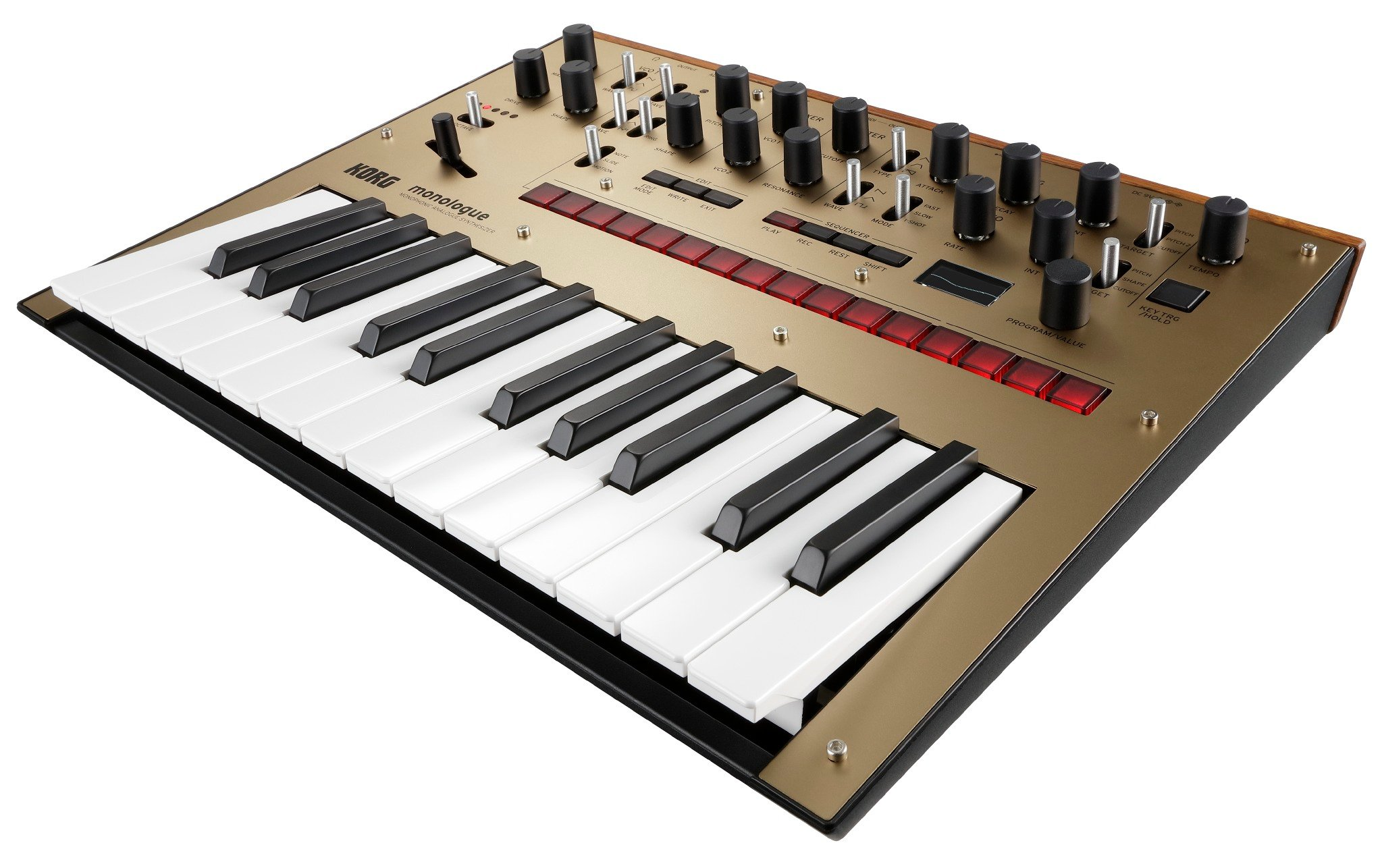 korg monologue 25 key monophonic analog synthesizer full compass systems. Black Bedroom Furniture Sets. Home Design Ideas