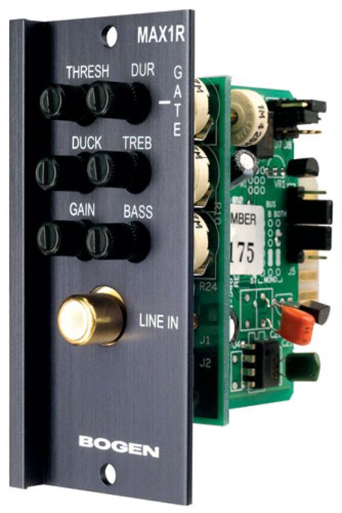 Unbalanced mono/aux Input Module, RCA