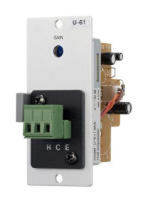 Unbalanced Line Input w/ Compressor