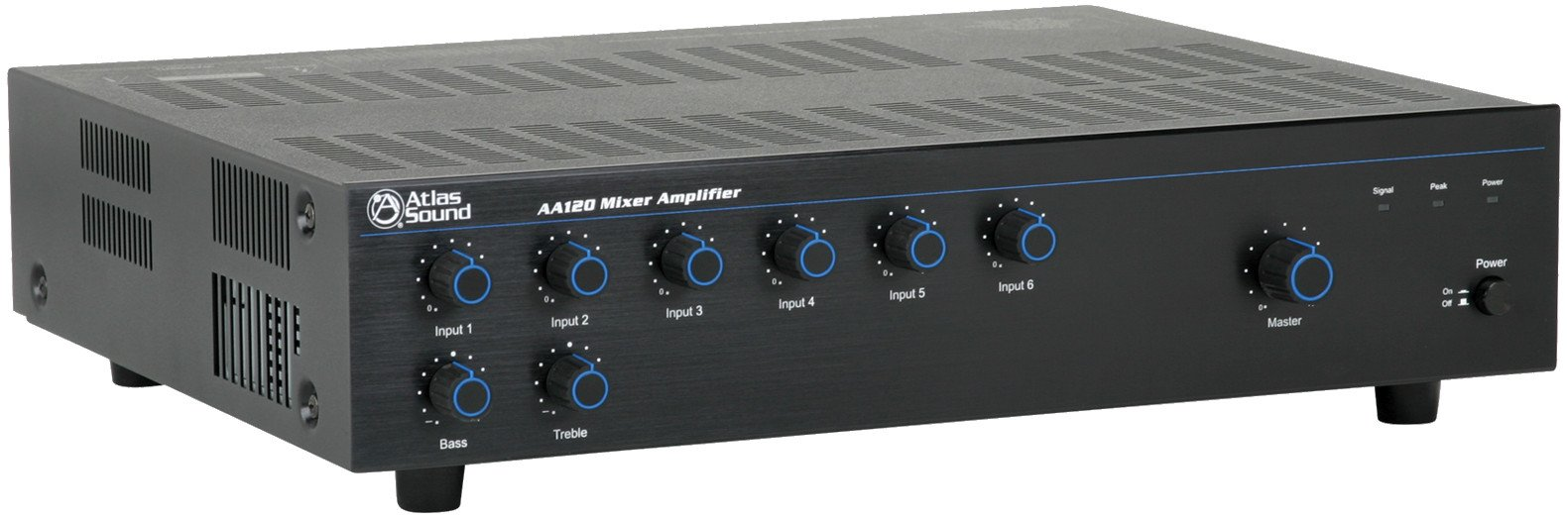 6 Channel 120W Amplifier / Mixer
