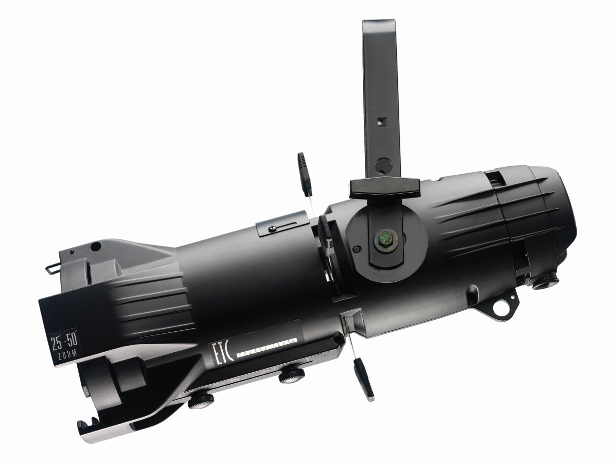 Etc source four jr zoom 575w ellipsoidal with 25 to 50 degree zoom dimmer and edison connector