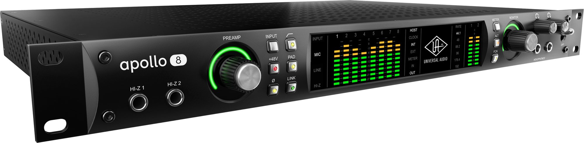18 x 24 Thunderbolt Audio Interface with QUAD Processing