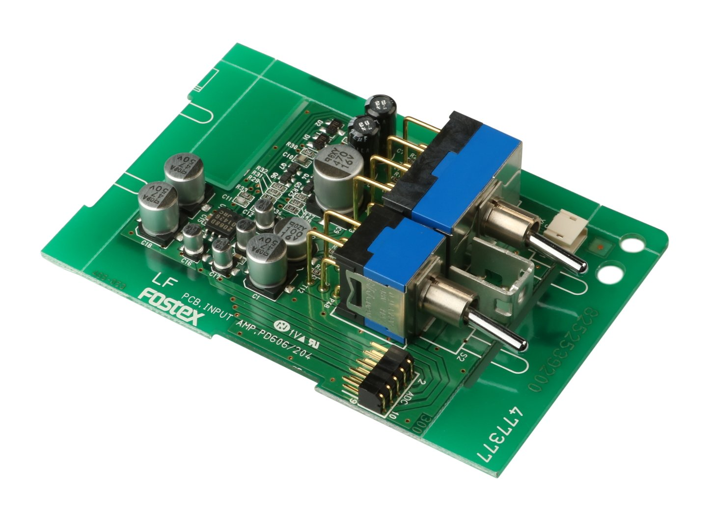 Input Amp PCB Assembly for PD606