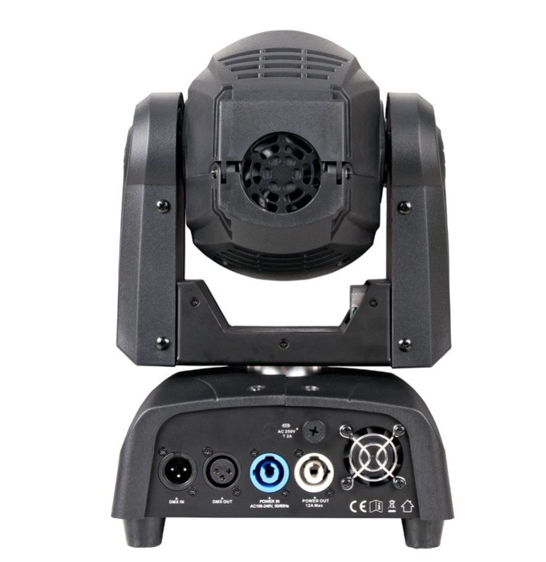 75W LED Moving Head with Motorized Focus & Gobo Wheel