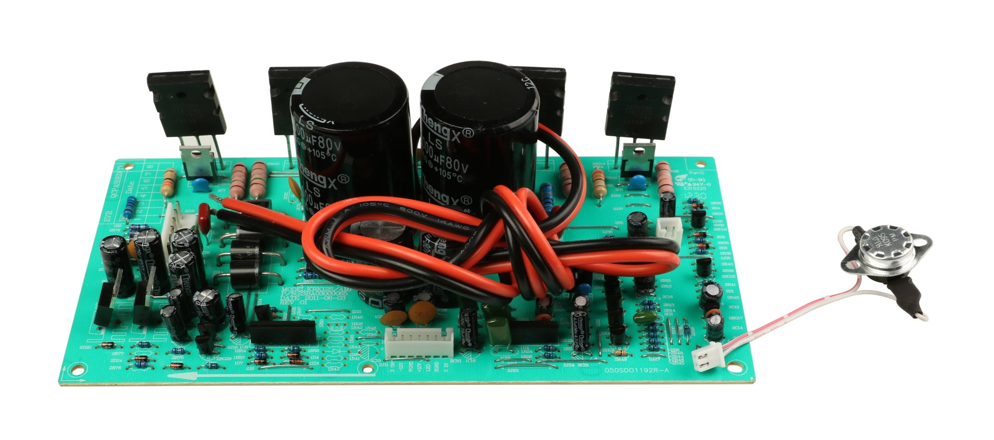Power Amp PCB Assembly for 12S