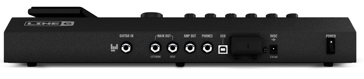Guitar MultiFX Processor with Bluetooth and iOS/Android Connectivity