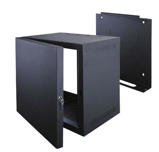 10-Space Wall-Mount Rack
