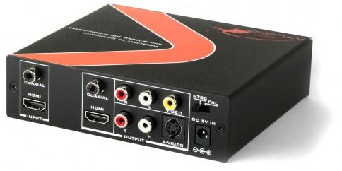 HDMI/DVI to Composite/S-Video Down Converter