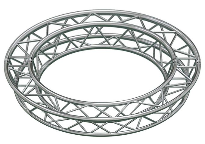 19.68ft (6.0M) Circle Truss with 8 x 45° Arcs