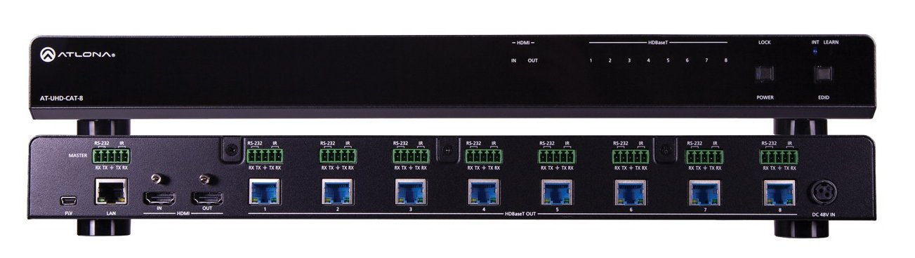 4K/UHD 8-Output HDMI to HDBaseT Distribution Amplifier