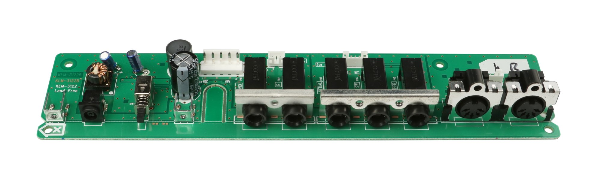Korg 510C80443122 Power Jack PCB For Krome 88