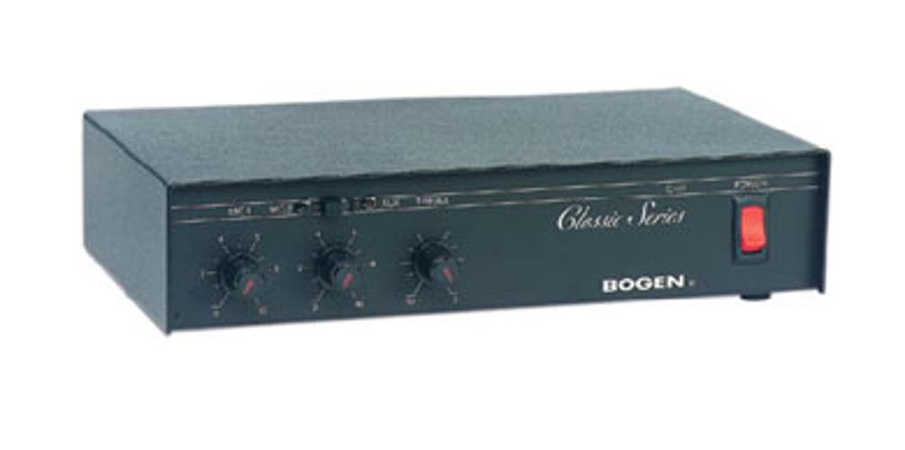 20 Watt Paging Mixer/Amplifier
