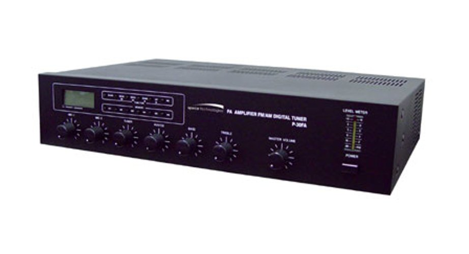 30W Amplifier with Digital AM/FM Tuner