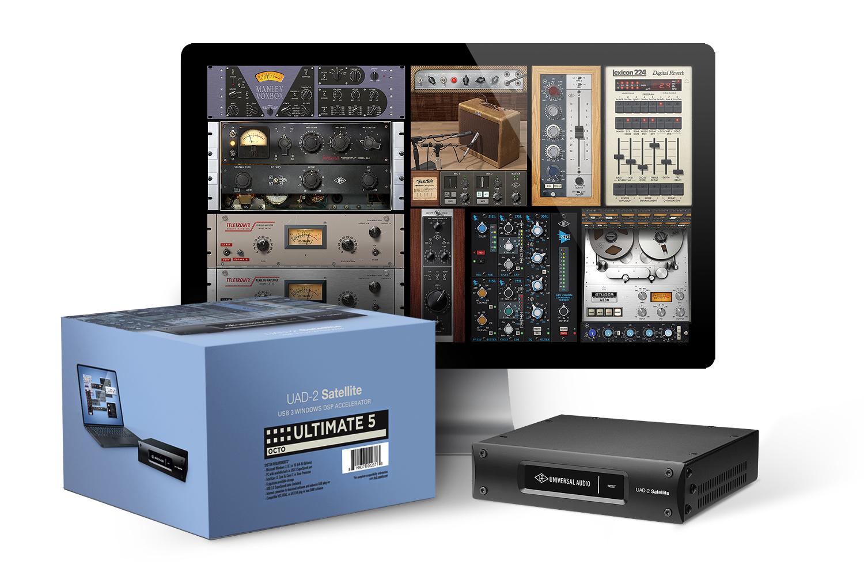 UAD-2 Satellite USB - OCTO Ultimate 5, with 89 plugins