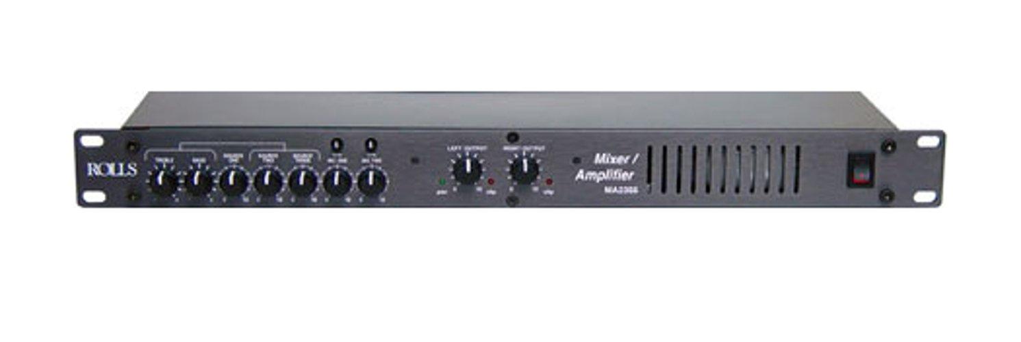Mixer / Amplifier, 35w/8ohm