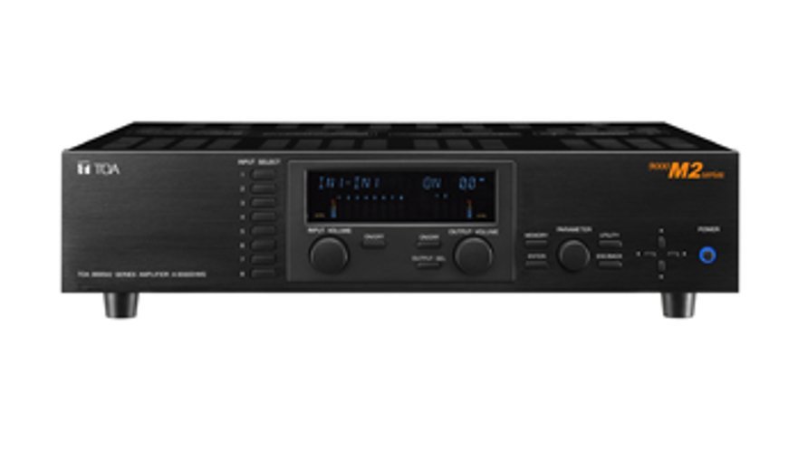 TOA A9060SM2CU Mixer Amplifier 1x60W @ 25/70V, 4/8 ohms A9060SM2CU