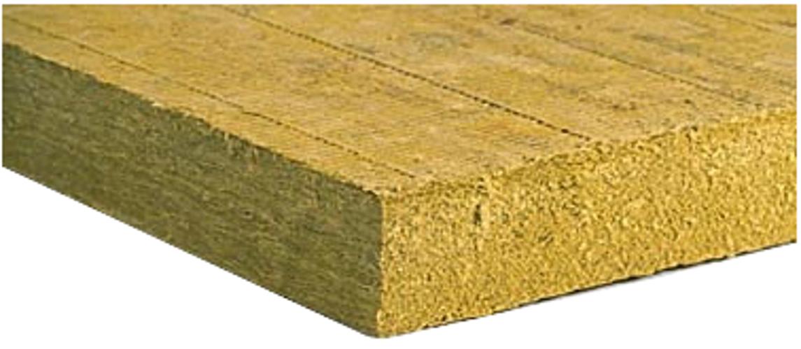 """2` x 4` x 4"""" Mineral Fiber Insulation, 3 Panels"""