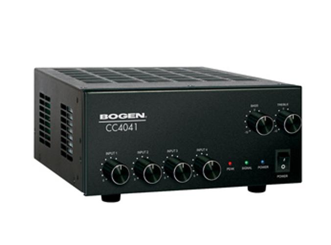 Bogen Communications CC4041 4-Input 40W 70/25V Mixer Amplifier CC4041