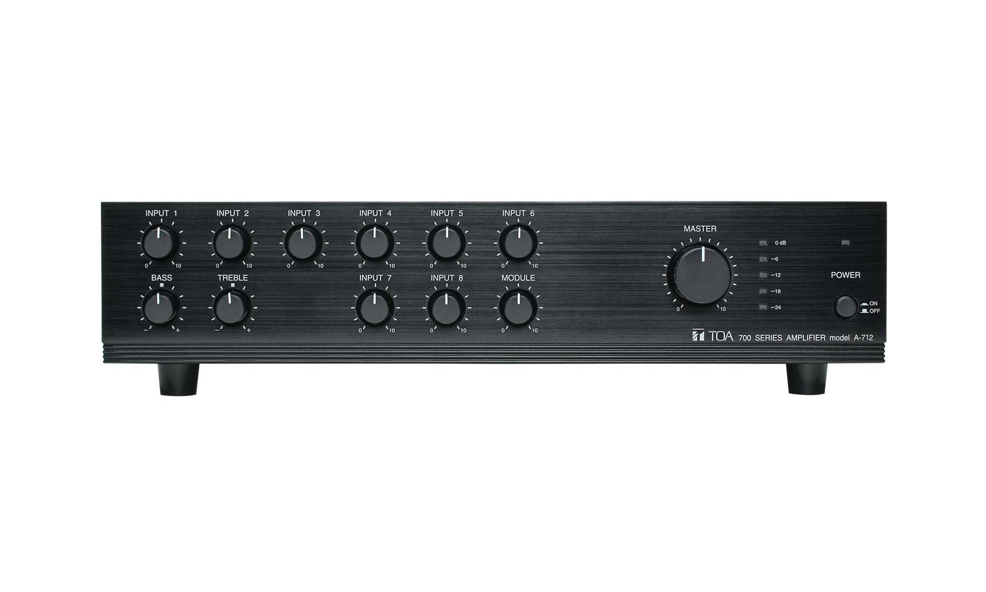 Mixer / Amplifier, 120W, A-712
