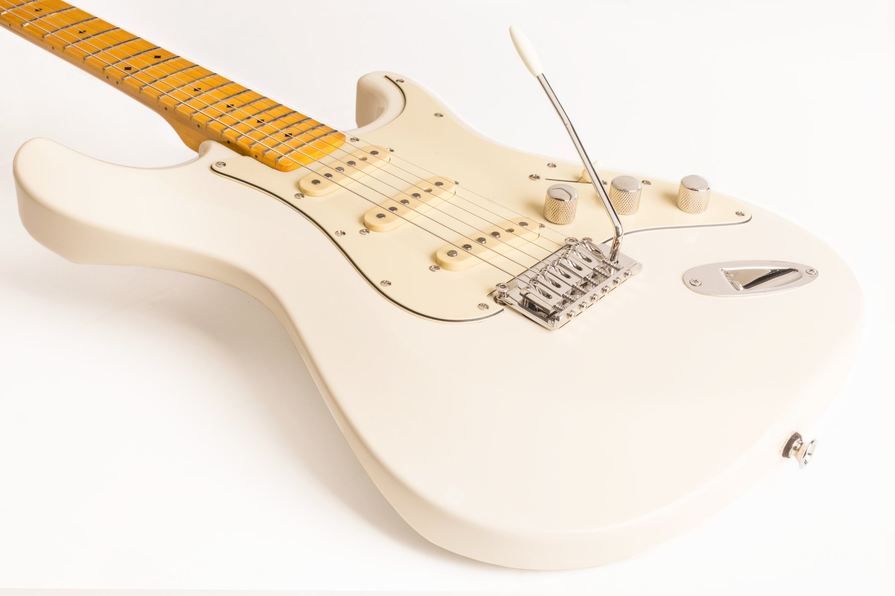 Electric Guitar with Z-Glide Neck, Alder Body, and SSS Pickup Configuration