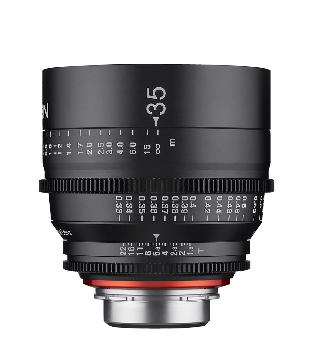 35mm T1.5 Professional Cine Lens for Canon