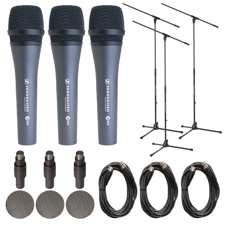 3-Pack Microphone Bundle