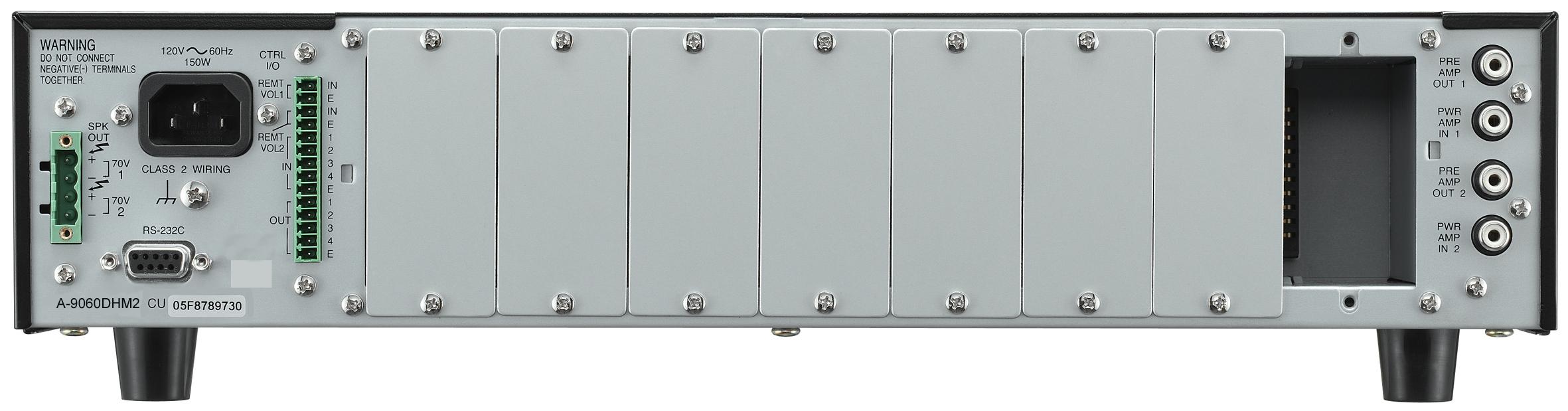 Modular Mixer Amp 1x120W 25/70V, 4/8ohms