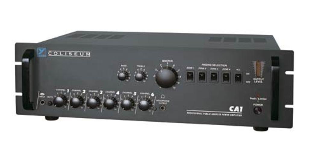 Power Amp/Mixer 180 Watts @ 4 Ohms/70V