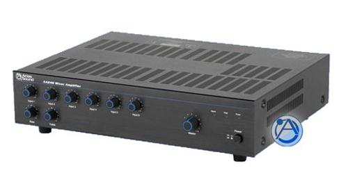 6 Channel 240W Mixer / Power Amplifier
