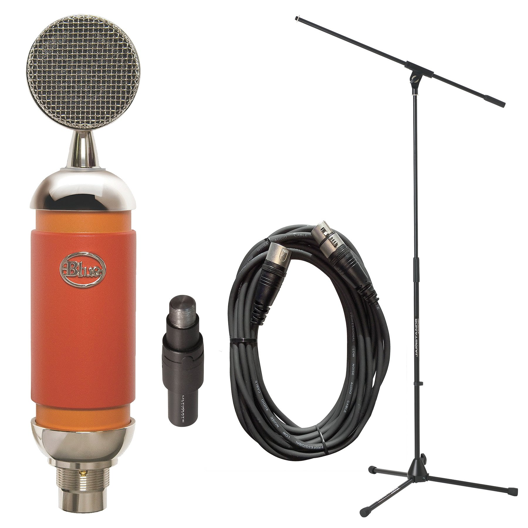 Microphone with Tripod Microphone Stand and Accessories