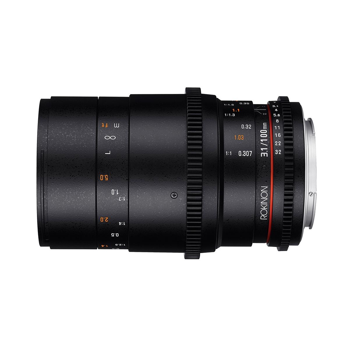 100mm T3.1 Cine DS Full Frame Macro Lens