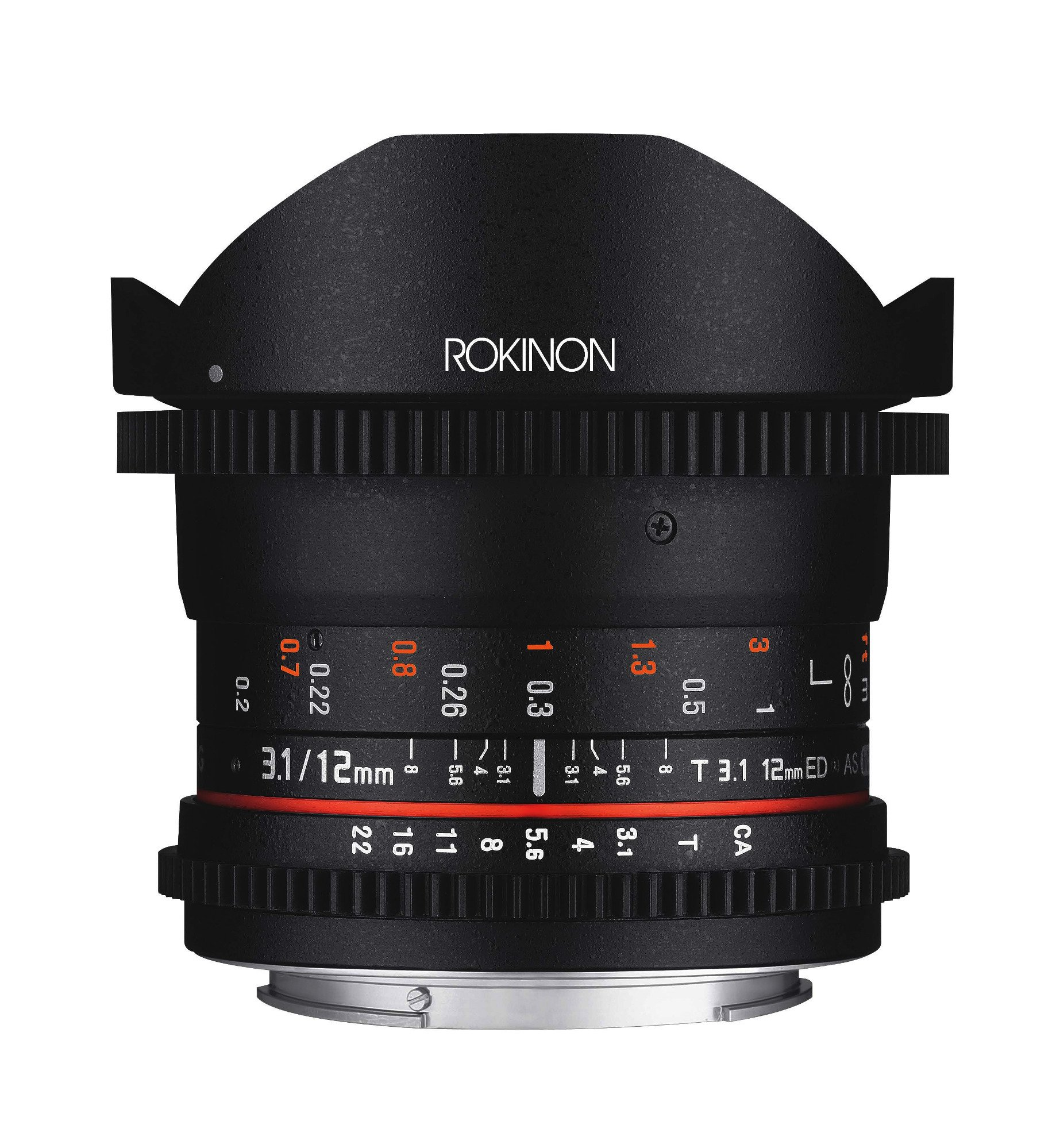 Rokinon 12mm T3.1 Full Frame Cine DS Fisheye Lens